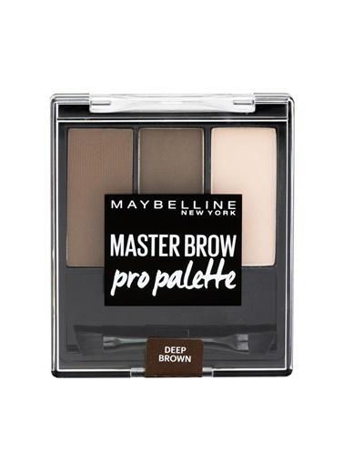 Maybelline Maybelline New York Master Brow Pro Kaş Paleti - 04 Koyu Ton Kahve
